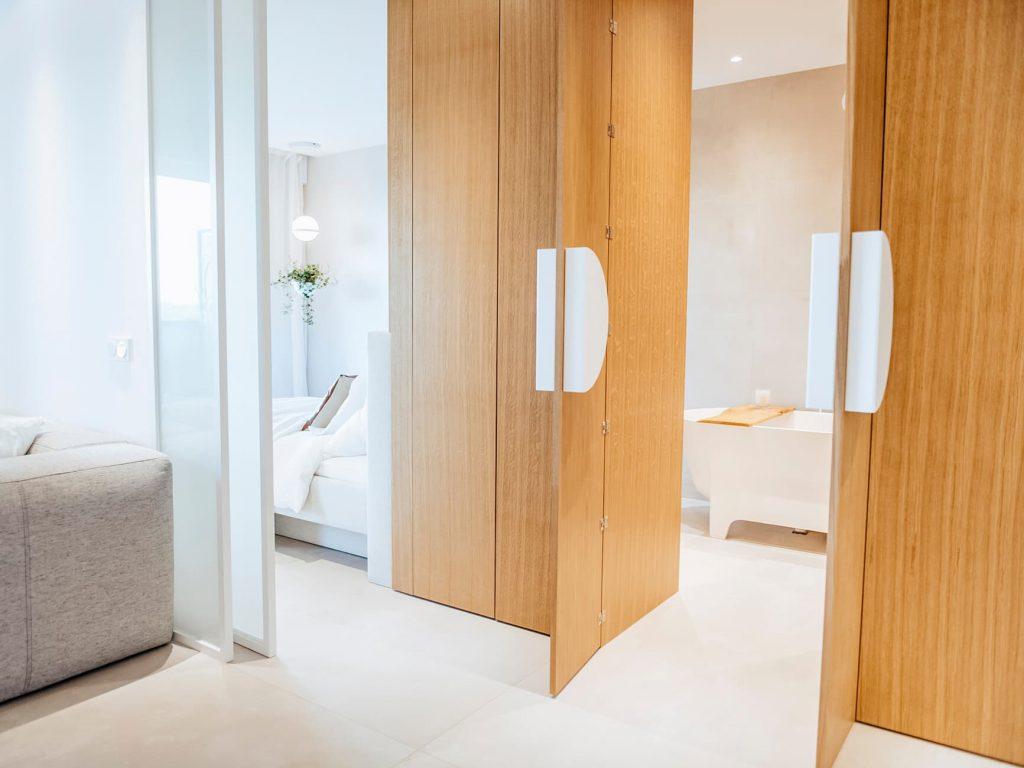 Concorde wejście do łazienki